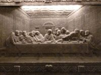 05.Last Supper  after Da Vinci  Wieliczka Salt Mine